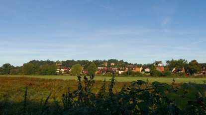 Farncombe from the river.