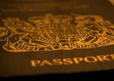 UK passport, foreign fighters