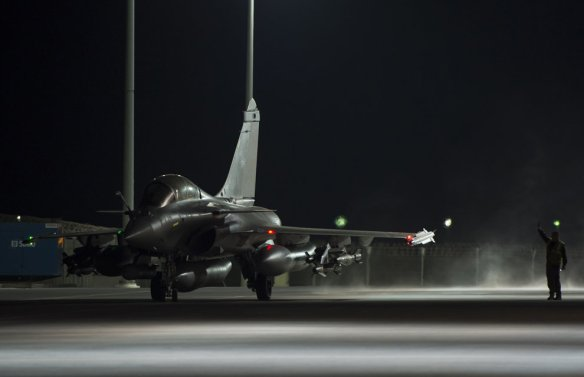 The Foreign Analyst - Opération Chammal - French Rafale