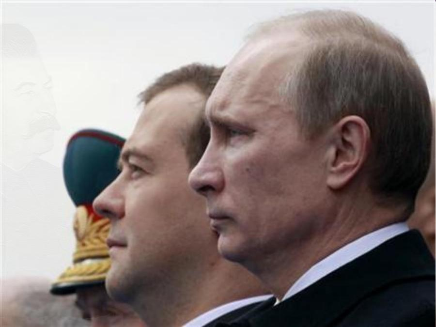 Dmitry Medvedev and Vladimir Putin, Russia, Cold War 2.0