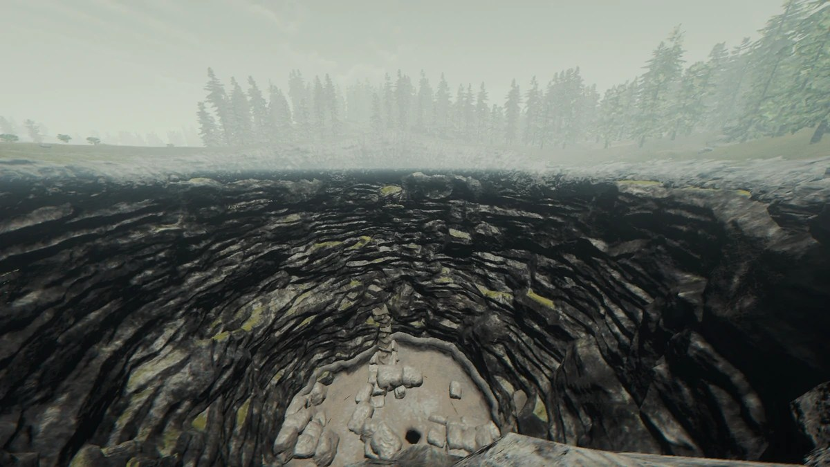 Sinkhole Official The Forest Wiki