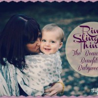 Ring Slings and Things: The Beauty and Benefits of Babywearing