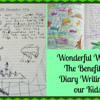 Wonderful Words:  The Benefits of Diary Writing for our Kids