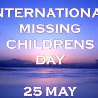May 25th: International Missing Children's Day