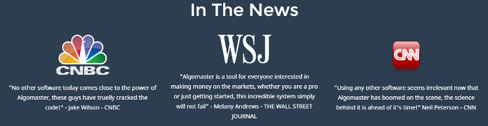 AlgoMaster System Screenshot
