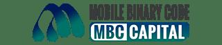 Mobile Binary Code Logo