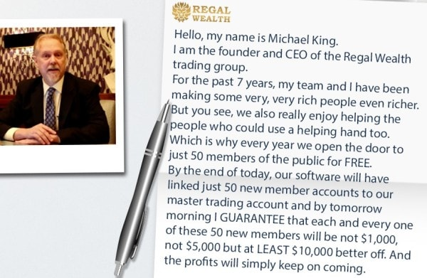 Regal Wealth Scam Guarantee