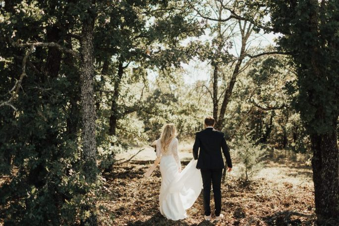 Our woodsy grounds are the perfect fairytale setting for your wedding
