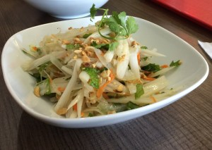 Lotus root salad (with out the shrimp) from Banh Mi Bistro Phoenix AZ