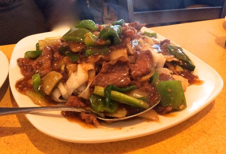 Beef Chow Fun with Black Pepper Sauce from Silver Dragon Phoenix AZ