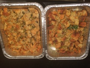 Traditional Stuffing and Rosemary Herb Stuffing