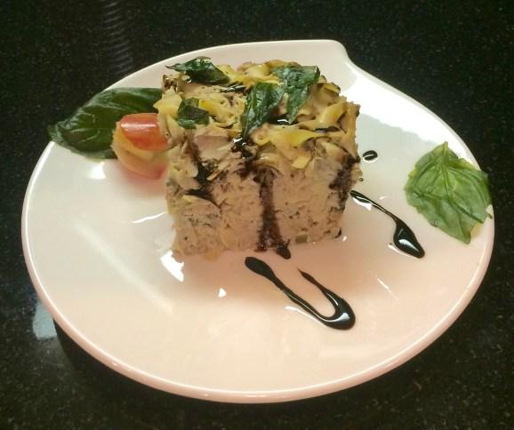 Forking Non-Traditional Italian Inspired Tuna Noodle Casserole