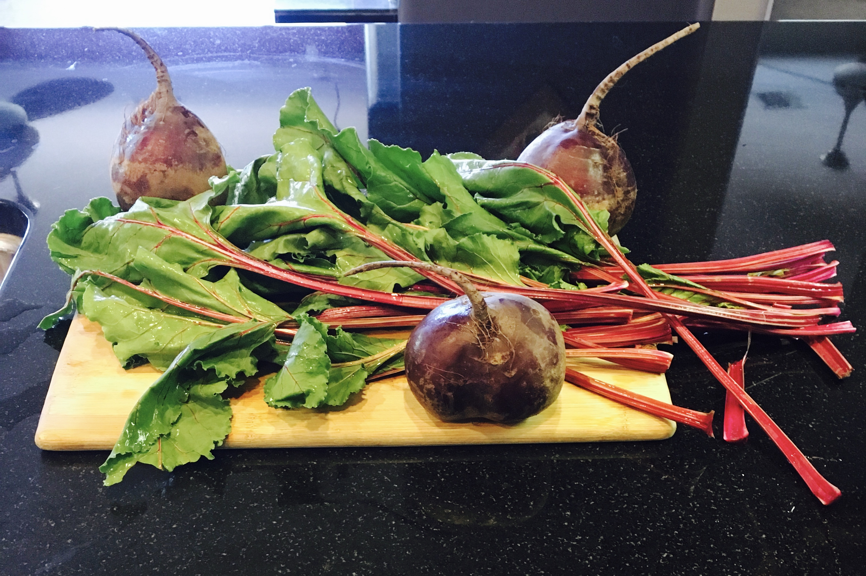 how to cook beet stems
