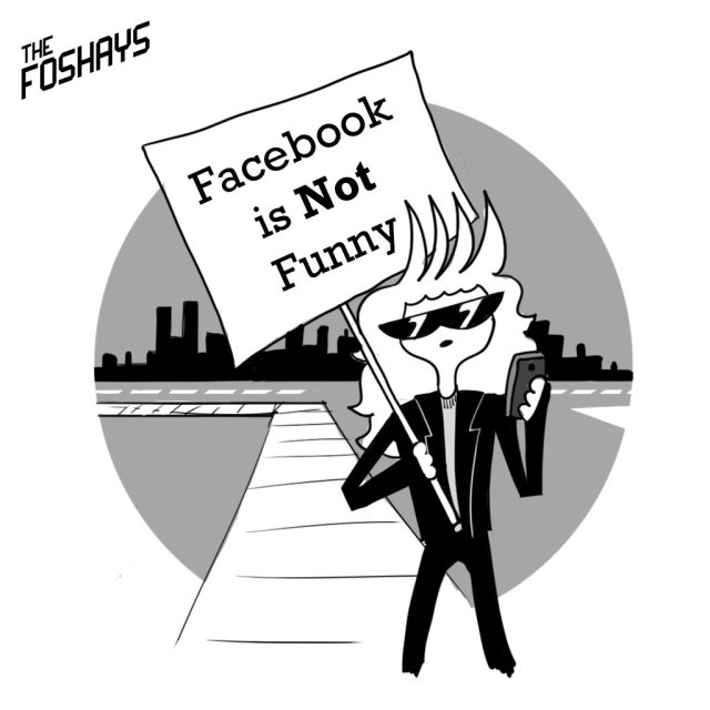 Facebook is Not Funny!