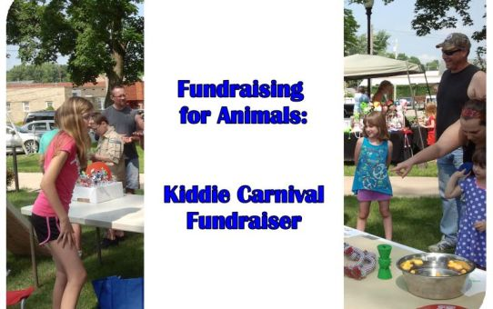 Fundraising for Animals: Kiddie Carnival Fundraiser