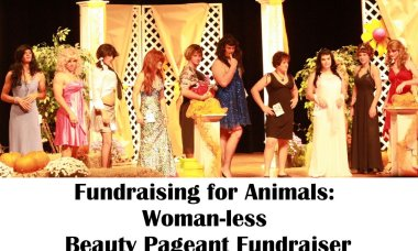 Fundraising for Animals: Woman-less Beauty Pageant Fundraiser