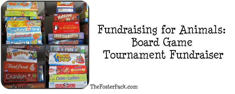 Fundraising for Animals: Board Game Tournament Fundraiser