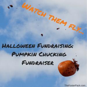 Pumpkin Chucking Fundraiser