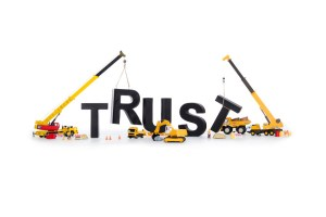 Focus on building trust with investors first