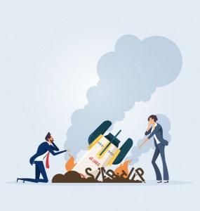 Most startups fail
