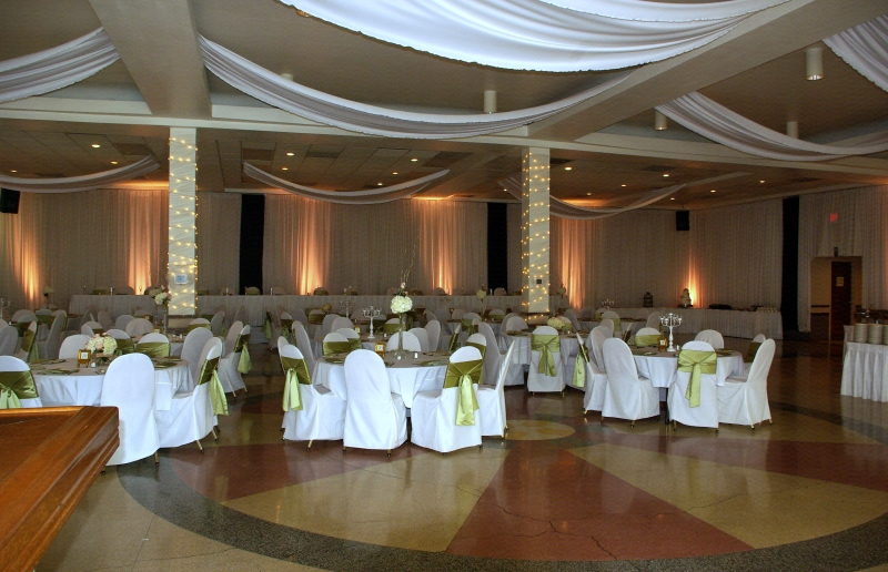 the Fours Seas Banquet Facility