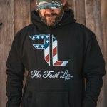 Fowl Life Hoodie American Flag