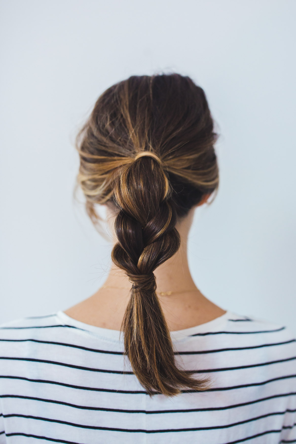 2 Insanely Easy Ponytail Hairstyles The Fox & She