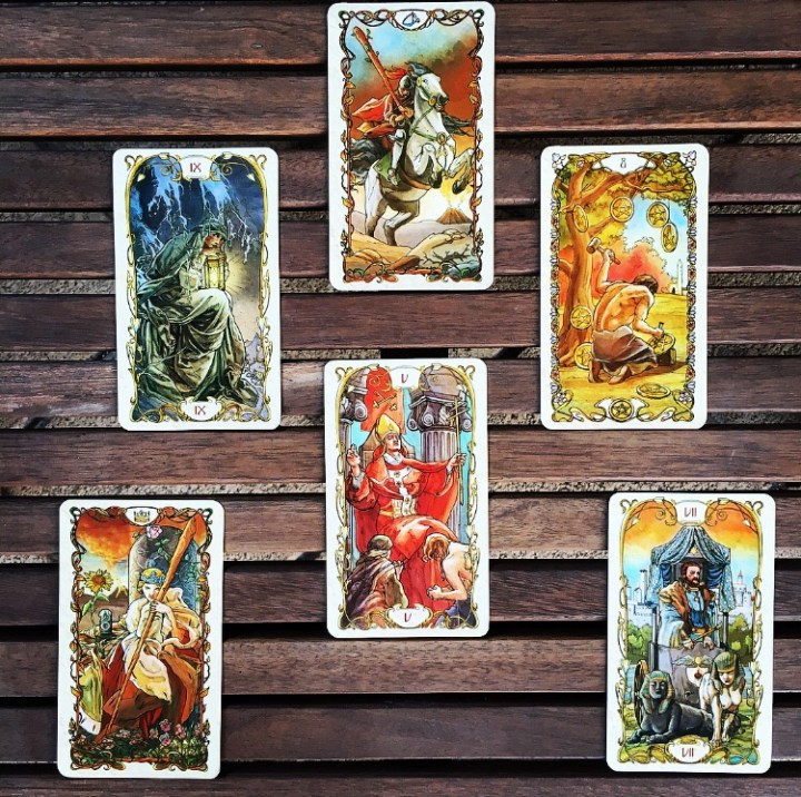 Deck Interview Spread - Tarot Mucha