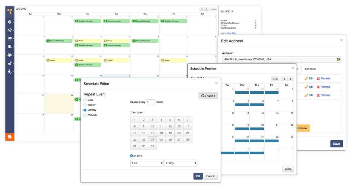 delivery scheduling software