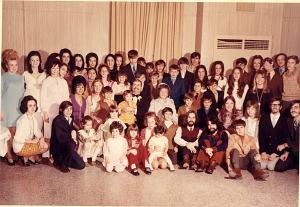 65th Anniversary Grandkids group photo