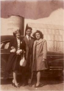 Carmen, Paul, Margie, car