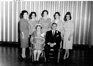 Martina, Valeriano, Merce, Margie, Ellen, Frances, Carmen