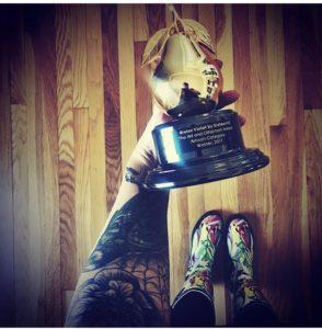 Claire's A&O Award