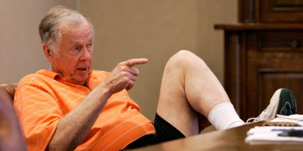 OSU fans might not like it, but $500 million allows Boone Pickens to always get his point across in Stillwater.