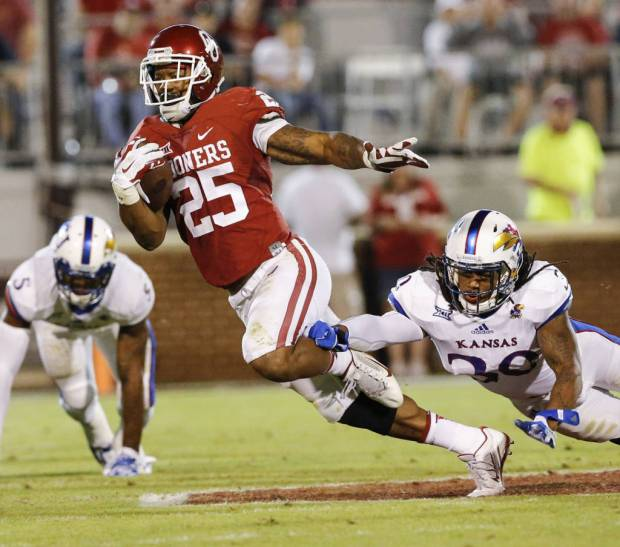 Oklahoma running back Joe Mixon on Tuesday night was suspended for Thursday night's game at Iowa State. (PHOTO: Ty Russell/OU media relations)