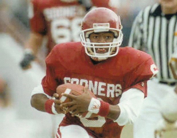 Charles Thompson played two seasons at Oklahoma and played in two Bedlam games.