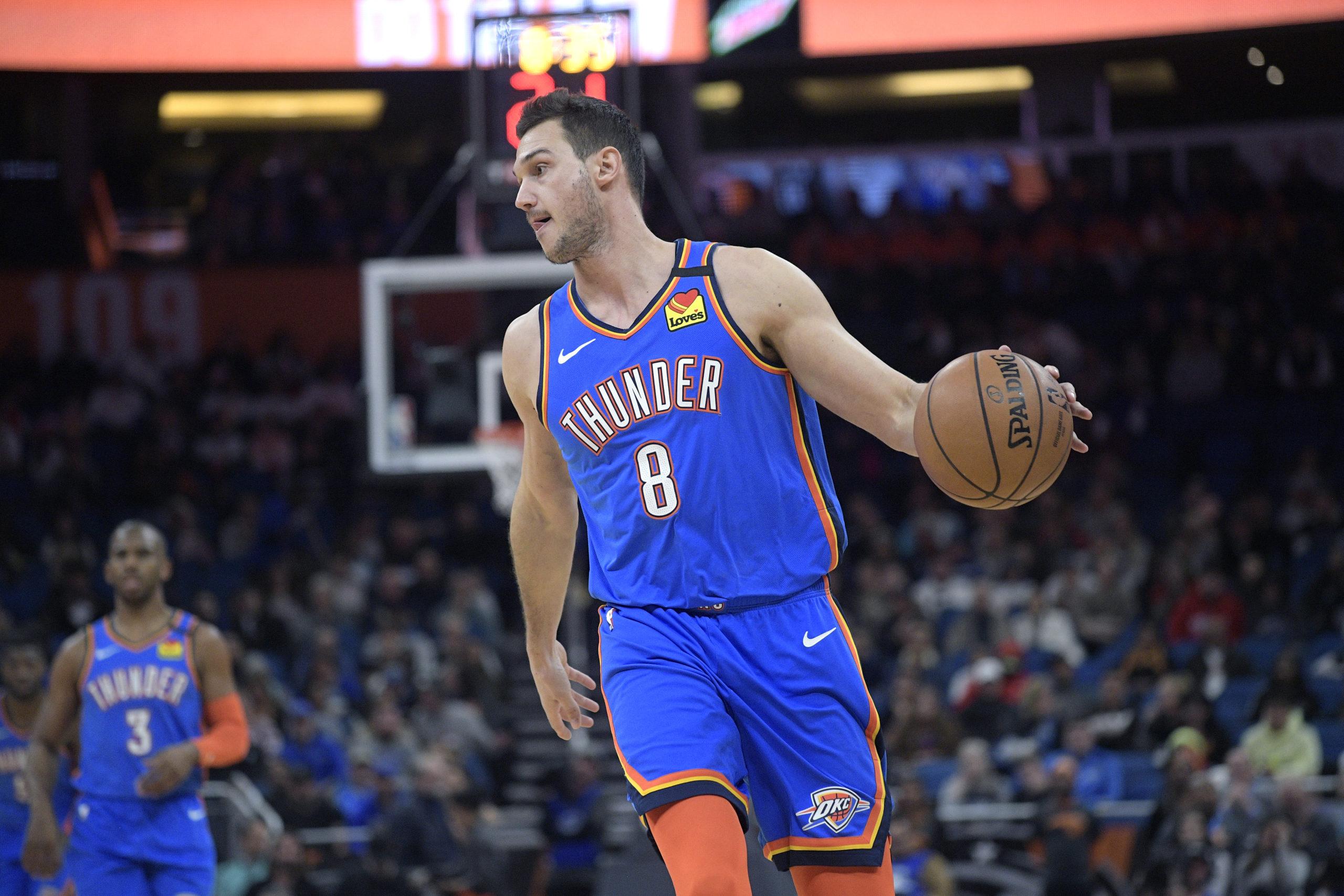 Danilo Gallinari... still a member of the Oklahoma City Thunder - The  Franchise