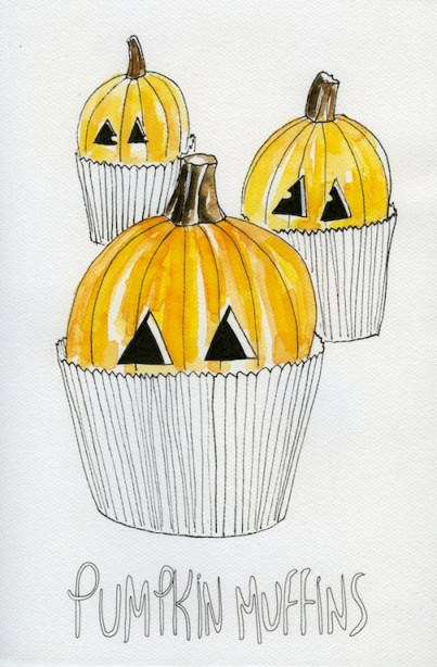 Pumplkin muffins205