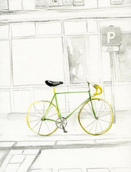 Jessie Kanelos Weiner-thefrancofly.com. Parisien bike