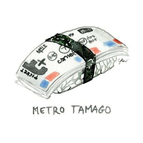 metro tamago