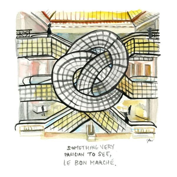 Paris city guide_thefrancofly.com_Le Bon Marche