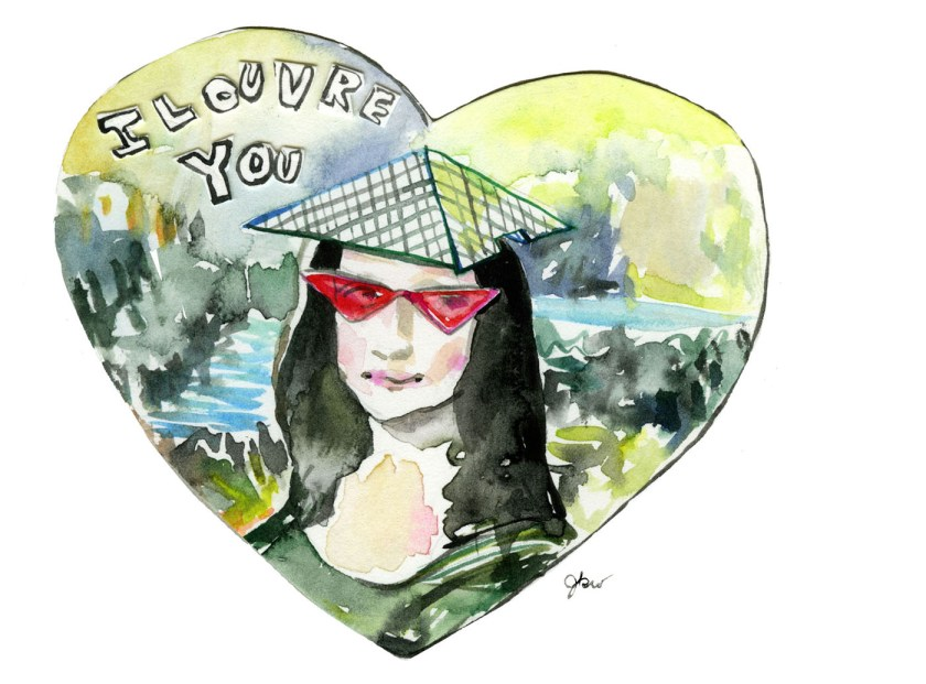 3 I louvre you_Jessie Kanelos Weiner_thefrancofly.com