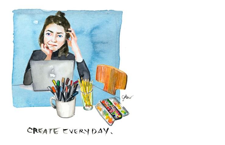 create everyday_Jessie Kanelos Weiner_thefrancofly.com