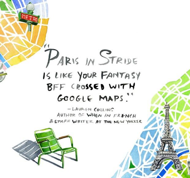 Paris in stride blurb_Jessie Kanelos Weiner Rizzoli