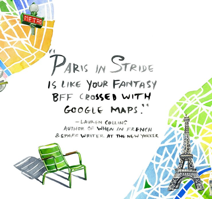 Paris in stride blurb_Jessie Kanelos Weiner Rizzoli