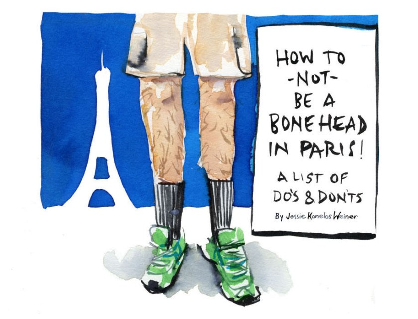 0 how to not be a bonehead in Paris _Jessie Kanelos Weiner