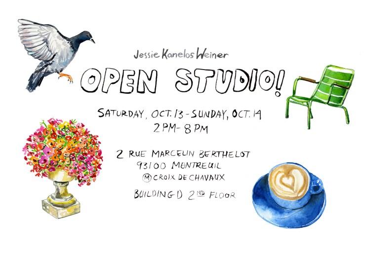 Open studio FB 2018_Jessie Kanelos Weiner