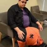 Man with huge scrotum needs $1million for surgery
