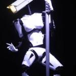 The robot that pole dances