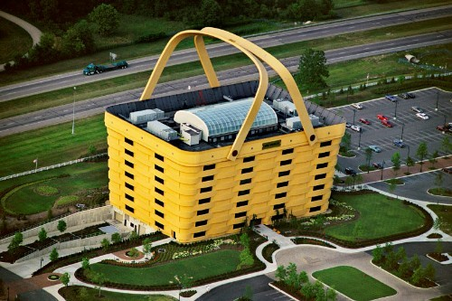 odd office building